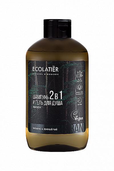 2-in-1 Men Showerl Gel-Shampoo - Ecolatier Urban Energy