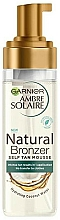 Fragrances, Perfumes, Cosmetics Self-Tanning Mousse - Garnier Ambre Solaire Natural Bronzer Intense Clear Self Tan Mousse