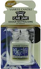 Fragrances, Perfumes, Cosmetics Car Air Freshener - Yankee Candle Car Jar Ultimate Midnight Jasmine