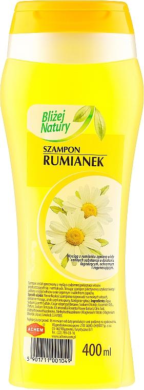 """Hair Shampoo """"Chamomile"""" - Achem Popular Camomile Shampoo — photo N2"""