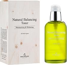 Fragrances, Perfumes, Cosmetics Moisturizing and Matting Toner for Renewing Skin Balance - The Skin House Natural Balancing Toner