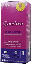 Fragrances, Perfumes, Cosmetics Daily Liners, 20 pcs - Carefree Plus Large