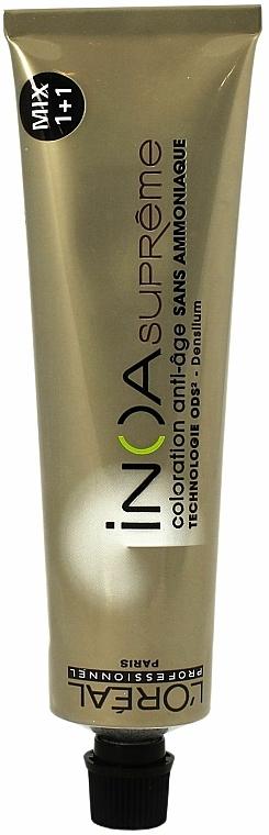 Anti-Age Hair Color - L'Oreal Professionnel INOA Supreme Mix 1+1