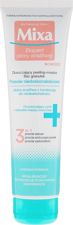 Peeling Mask for Face - Mixa Face Peeling Mask 3in1