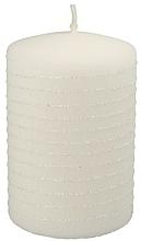 Fragrances, Perfumes, Cosmetics White Decorative Candle - Artman Candle Andalo