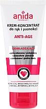 Fragrances, Perfumes, Cosmetics Hand and Nail Cream - Anida Pharmacy Anti Age Hand Cream