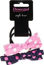 "Fragrances, Perfumes, Cosmetics Hair Ties ""Hearts-Me"", 2 pcs - Donegal"