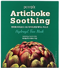 Fragrances, Perfumes, Cosmetics Soothing Hydro Gel Face Mask with Artichoke Extract - Petitfee&Koelf Artichoke Soothing Face Mask