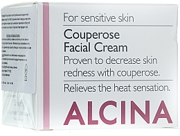 Fragrances, Perfumes, Cosmetics Anti-Couperose Facial Cream - Alcina S Couperose Facial Cream