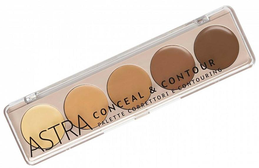 Makeup Palette - Astra Palette Conceal&Contour Palette — photo N1