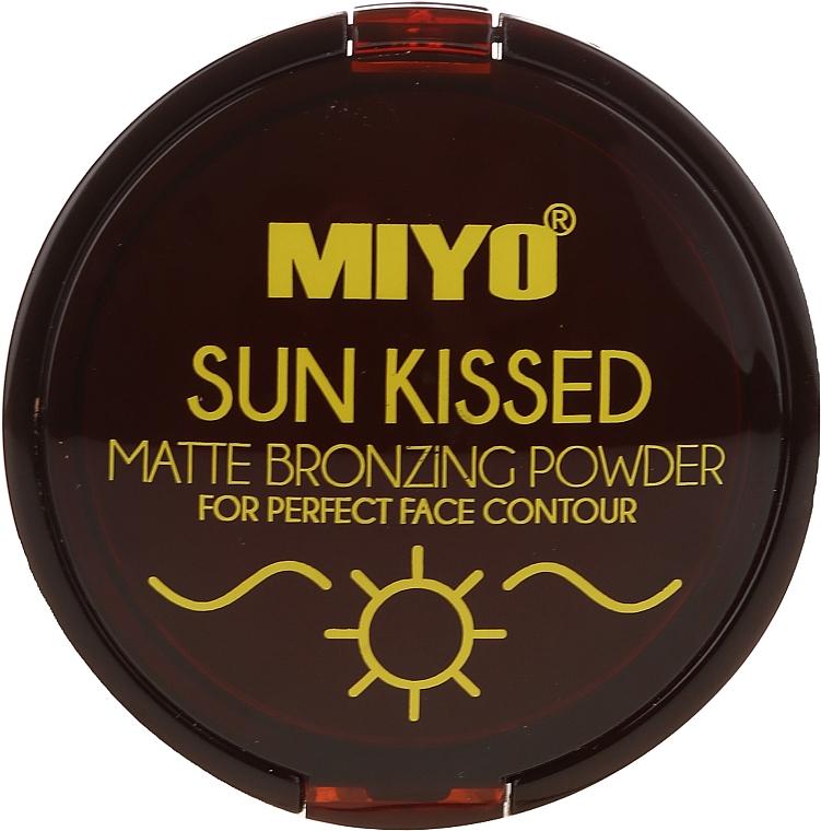 Bronzing Powder - Miyo Sun Kissed Matt Bronzing Powder