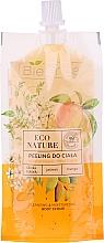 Fragrances, Perfumes, Cosmetics Body Scrub - Bielenda Eco Nature Cockatoo Plum Jasmine Mango Cleansing Body Scrub