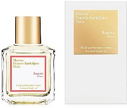 Fragrances, Perfumes, Cosmetics Maison Francis Kurkdjian Amyris Femme - Scented Body Oil