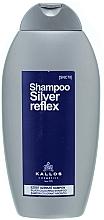 Fragrances, Perfumes, Cosmetics Coloring Silver Shampoo - Kallos Cosmetics Silver Reflex Shampoo
