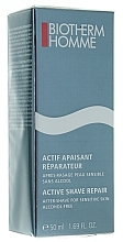 Fragrances, Perfumes, Cosmetics After Shave Gel - Biotherm Homme Active Shave Repair 50ml