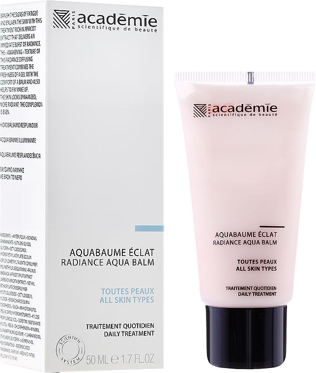 "Apricot Cream Balm ""Shining"" - Academie Radiance Aqua Balm"