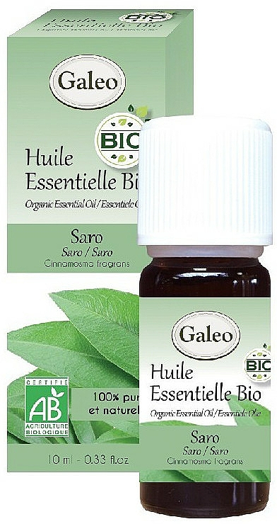 Organic Saro Essential Oil - Galeo Organic Essential Oil Saro — photo N1