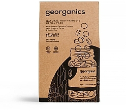 """Fragrances, Perfumes, Cosmetics Tooth Cleansing Tablets """"Activated Charcoal"""" - Georganics Natural Toothtablets Activated Charcoal (refill)"""