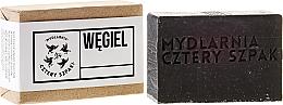 "Fragrances, Perfumes, Cosmetics Soap ""Carbon"" - Cztery Szpaki Soap"