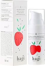 "Fragrances, Perfumes, Cosmetics Natural Repairing Cream with Plant Complex ""Detox"" - Hagi"