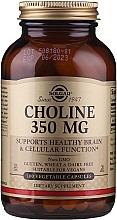 "Fragrances, Perfumes, Cosmetics Dietary Supplement ""Choline"" - Solgar Choline 350 mg"
