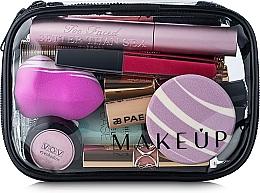 "Fragrances, Perfumes, Cosmetics Clear Makeup Bag ""Visible Bag"" 15x10x5cm (without filling) - MakeUp"