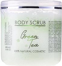 "Fragrances, Perfumes, Cosmetics Body Scrub ""Green Tea"" - Sezmar Collection Professional Body Scrub Green Tea"