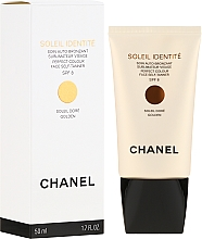 Fragrances, Perfumes, Cosmetics Self-Tanner - Chanel Soleil Identite SPF 8 Dore Golden