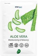 Fragrances, Perfumes, Cosmetics Aloe Sheet Mask - Stay Well Aloe Vera Face Mask