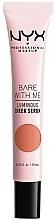 Fragrances, Perfumes, Cosmetics Luminous Cheek Mask - NYX Professional Makeup Bare With Me Shroombiotic Cheek Serum