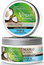 "Fragrances, Perfumes, Cosmetics Body Oil ""Coconut"" - Bielenda Vegan Friendly Coconut Body Butter"