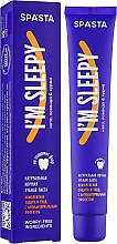 """Fragrances, Perfumes, Cosmetics Natural Night Toothpaste """"Complex Protection & Care with Antibacterial Effect"""" - Spasta I Am Sleepy Toothpaste"""
