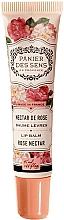 Fragrances, Perfumes, Cosmetics Rose Shea Butter Lip Balm - Panier des Sens Lip Balm Shea Butter Rose Nectar