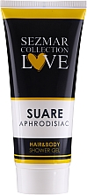Fragrances, Perfumes, Cosmetics 2-in-1 Shower Gel - Sezmar Collection Aphrodisiac Suare Hair&Body Shower Gel