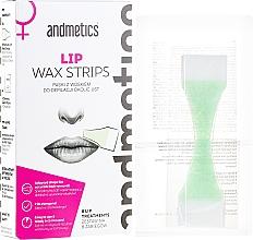 Fragrances, Perfumes, Cosmetics Lip Wax Strips - Andmetics Lip Wax Strips Women (strips/8x2pc + wipes/4pc)