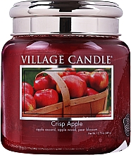 Fragrances, Perfumes, Cosmetics Scented Candle in Glass Jar - Village Candle Crisp Apple