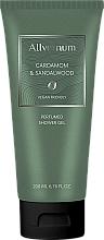 Fragrances, Perfumes, Cosmetics Allvernum Cardamom & Sandalwood - Perfumed Shower Gel