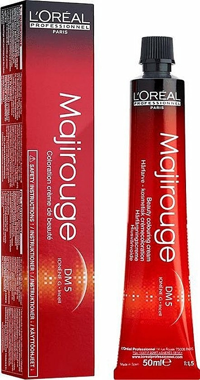 Hair Cream Color - L'Oreal Professionnel Majirouge DM5 — photo N1
