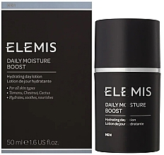 Fragrances, Perfumes, Cosmetics Moisturizing After Shave Cream - Elemis Men Daily Moisture Boost