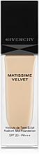 Fragrances, Perfumes, Cosmetics Foundation - Givenchy Matissime Velvet Liquid Foundation SPF 20