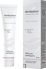 """Fragrances, Perfumes, Cosmetics Toothpaste """"Teeth and Gums Protection"""" - Dentissimo Pro-Care Teeth&Gums"""