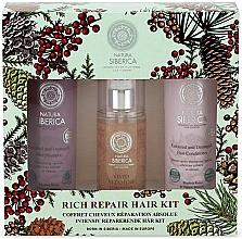 Fragrances, Perfumes, Cosmetics Set - Natura Siberica Natural & Organic Rich Repair Hair Kit (shm/250ml + balm/250ml + gel/125ml)