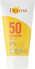 Fragrances, Perfumes, Cosmetics Sun Protective Tanning Lotion - Derma Sun Lotion SPF50