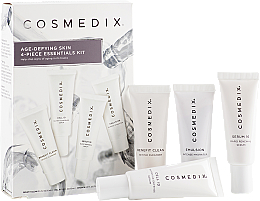 Fragrances, Perfumes, Cosmetics Set - Cosmedix Age Defying Skin 4-Piece Essentials Kit (f/cleanser/15ml + f/ser/15ml + f/ser/15ml + f/cr/15ml)