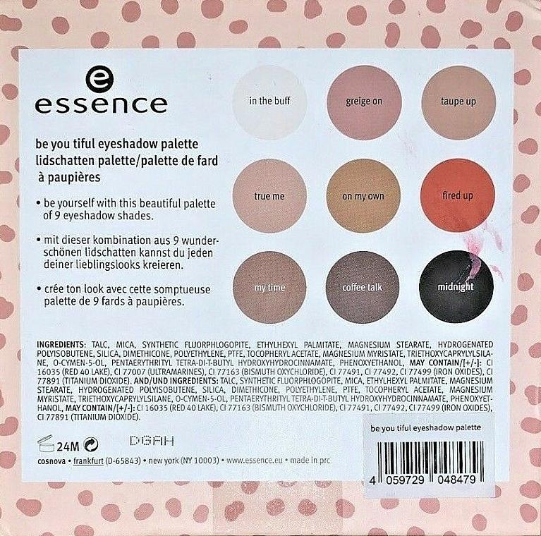 Eyeshadow Palette - Essence Be You Tiful Eyeshadow Palette — photo N4