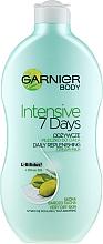 "Fragrances, Perfumes, Cosmetics Body Milk ""Olive"" - Garnier Body Hydration 7 Days Body Milk"