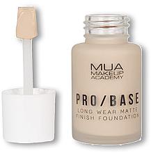 Fragrances, Perfumes, Cosmetics Foundation - MUA Pro Base Long Wear Matte Finish Foundation