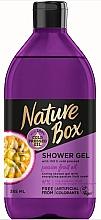 Fragrances, Perfumes, Cosmetics Shower Gel - Nature Box Passion Fruit oil Shower Gel