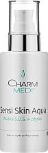 Fragrances, Perfumes, Cosmetics Face Mask - Charmine Rose Charm Medi Sensi Skin Aqua Maska SOS