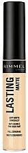 Fragrances, Perfumes, Cosmetics Matte Concealer - Rimmel London Lasting Matte Concealer